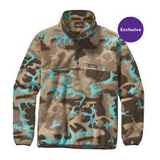 Patagonia Patterns Stunning Patagonia Men's Lightweight Synchilla SnapT Pullover