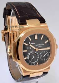 Box Time Rose Gold Jewels In Watch Philippe Jumbo Patek 5712r 5712 18k papers Nautilus