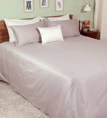 Sheet Online Premium Solid 400tc Grey 100 Cotton Double Size Bed Sheet With 2 Pillow Covers By Pizuna Linens