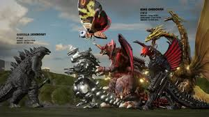 Godzilla Evolution Chart Evolution Of Godzilla Monsters Size Comparison