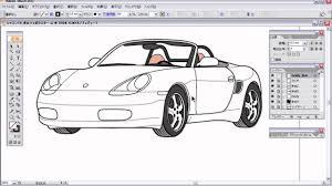 Illustrator使い方講座第13回 イラストレーターでの車の書き方完成