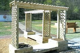 diy garden arbors garden arbor how to build a arbor trellis inspirational garden arbor club garden