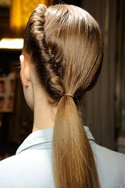 Twisted Hair Style ponytail with a twist hair tutorial 5505 by wearticles.com