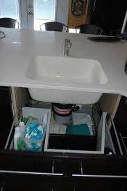 sink base functional drawers ikea hackers kitchen sink cabinets cabinet drawers