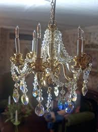 miniature chandelier dollhouse dollhouse miniature handcrafted crystal chandelier dollhouse miniature
