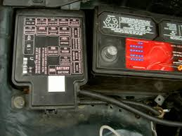diy negative positive battery cable replacement pics d now locate the engine fuse box