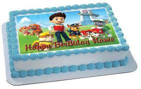 Paw Patrol 2 edible cake topper JPG grande v=
