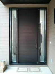 modern door designs. Interesting Door Portes Du0027entre En Acier  Bourassa Throughout Modern Door Designs