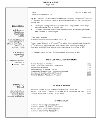 sunday school teacher resume perfect resume  resume college math