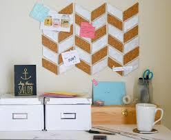 cork board office. make a herringbone bulletin board cork office t