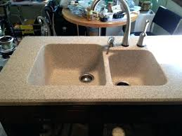 amazing bathroom sink countertop one piece cool one piece kitchen sink and cream square 1 piece