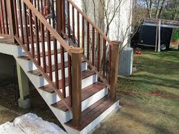 installing porch railings a concord carpenter