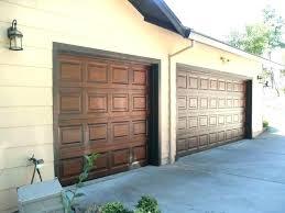 can you paint a garage door painting garage door to look like wood metal door paint