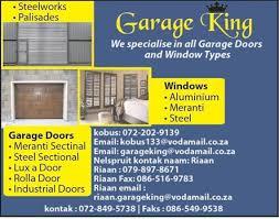 king garage doorGarage King Lydenburg Mpumalanga  gate automation  Hotfrog