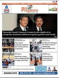 El Pregonero. La portada del 23 de febrero de 2021 - Noticias Santo Domingo