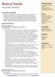Associate Attorney Resume Samples Qwikresume