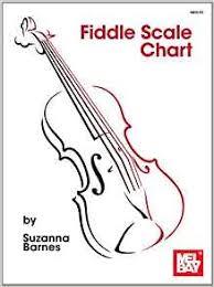 Violin Music Scales Chart Fiddle Scale Chart Suzanna Barnes 9780786685059 Amazon