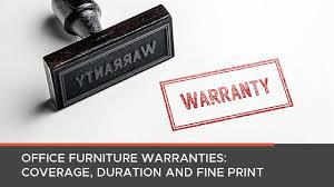 Office Coverage Office Furniture Warranties Coverage Duration And Fine