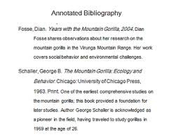 Mla Annotated Bibliography Template SlidePlayer