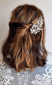 Photo Coiffure Simple Pour Mariage Invité Cheveux Mi Long