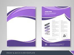 fashion business single page brochure design vector material geometry polygon business brochure