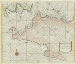 Antique Map Java By Thornton 1734 Soldbartele Gallery