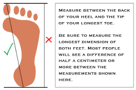 mere foot size