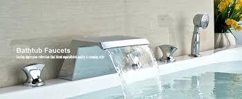 bathtub handle repair faucets waterfall bath tub