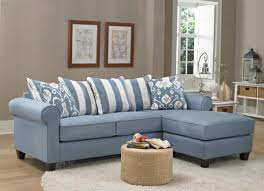 Blue Sofa Amusing Light Blue Sectional Sofa 82 In Sectional Or Sofa And