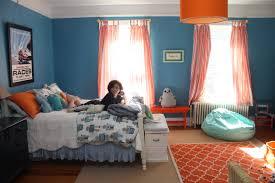 Fantastic Blue And Orange Bedroom Decoration Using Large Drum Orange Bedroom  Ceiling Lamp Shade Including Light Blue Bedroom Wall Paint And Pleat Light  Blue ...