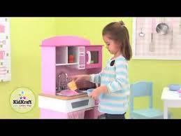Kidkraft Petal Pink Kitchen Kidkraft Home Cooking Kitchen 53198 Girls Pink Play Toy Kitchen At