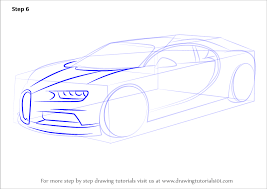 Small Picture Learn How to Draw Bugatti Chiron Sports Cars Step by Step