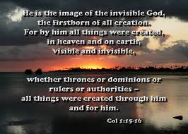 Image result for the invisible things of god