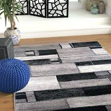 jadide gray charcoal area rug world menagerie oblong blocks