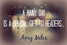 love rainy day quote image