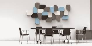 Small Picture Decorations Modern Wood Wall Panel In Lobby Office Idea