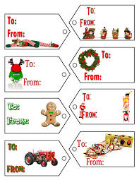 Christmas Gift Label Templates (19)