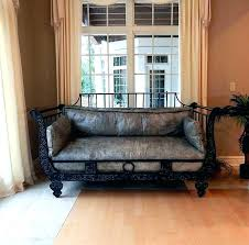 faux leather daybed faux leather daybed faux leather daybed brown leather daybed home dark brown faux