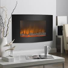 best electric fireplace heater wall mount