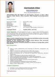 Sample Resume For Overseas Jobs Resume Format For Foreign Jobs Elegant Resume Format For Foreign 15