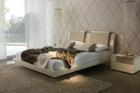 fancy beds suspended floating bed double bed luxury design bedroom  Soothingcompany