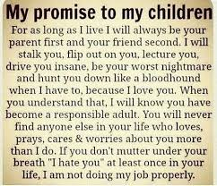 My promise to my children quotes Promo Time Delectable My Children Quotes