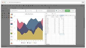 Online Area Chart Maker