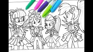 My Little Pony Coloring Book Mlp Coloring Pages For Kids Equestria