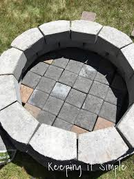 pretty outdoor brick fire pit amazing how to build a diy firepit for b living room