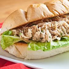 chicken salad sandwich on roll. Wonderful Roll 50 From 1 Reviews Print Slow Cooker Chicken Caesar Salad Sandwiches Inside Sandwich On Roll K
