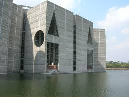 Image result for The Sangsad Bhaban in Bangladesh