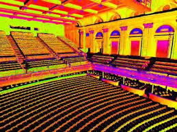 Modell Lyric Seating Chart Laser Scan Of The Lyric Theater In Baltimore