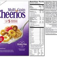 multigrain cheerios nutrition label writings and essays corner intended for multigrain cheerios nutrition label