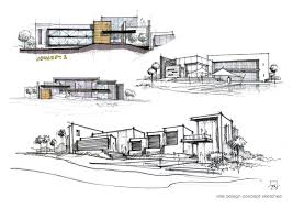 Villa Design Concept Sketches Atelier2 Sketching Pinterest